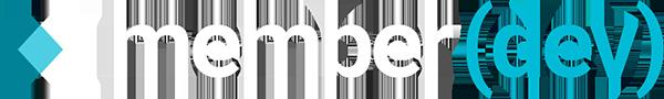 MemberDev Logo (White)