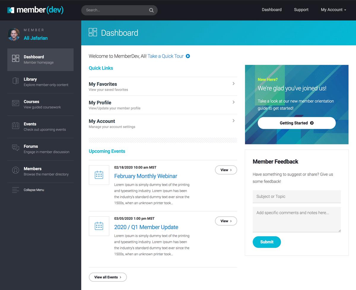 MemberDev Membership Platform