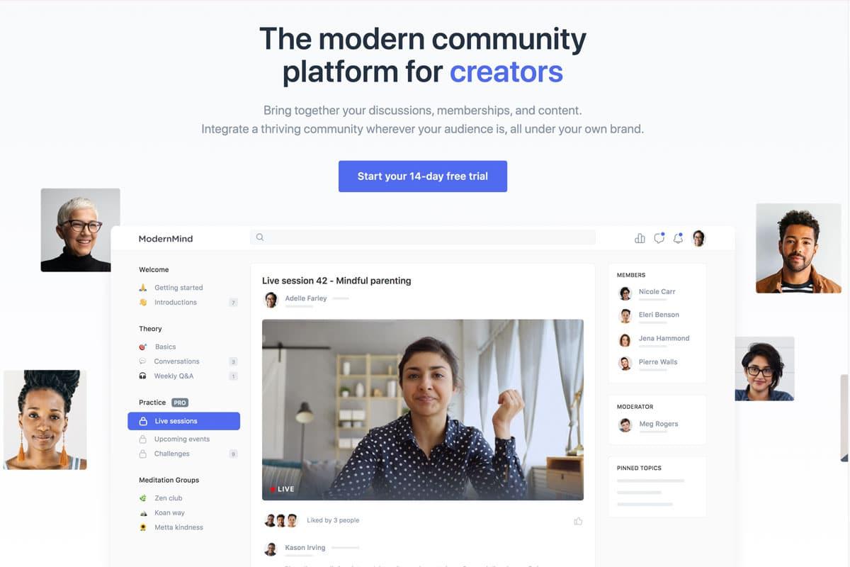 Facebook Alternative - Circle
